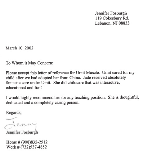 child care letter fosburg letter of reference 9621